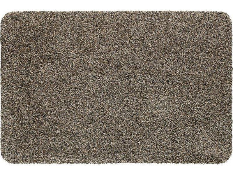 Wasbare droogloopmat Beige 60x100 cm.