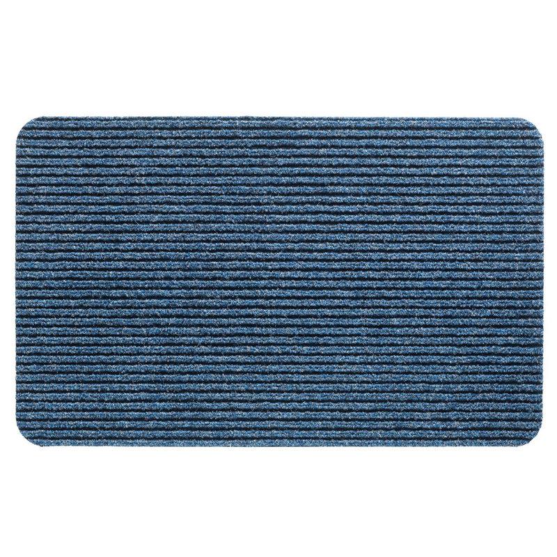 Naaldvilt deurmat Renox -  Blauw  40 X 60 cm.