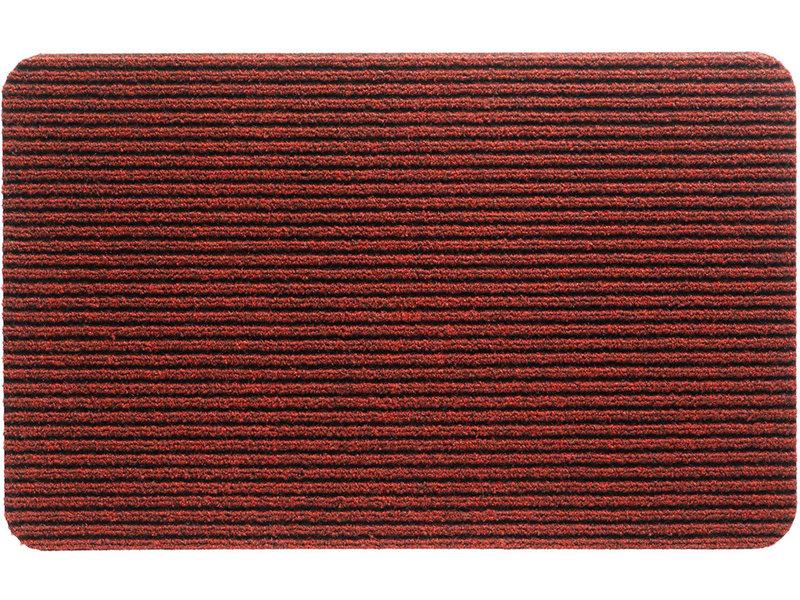 Naaldvilt deurmat Renox - Rood 50 X 80 cm.