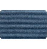 Naaldvilt deurmat Renox -  Blauw  50 X 80 cm.