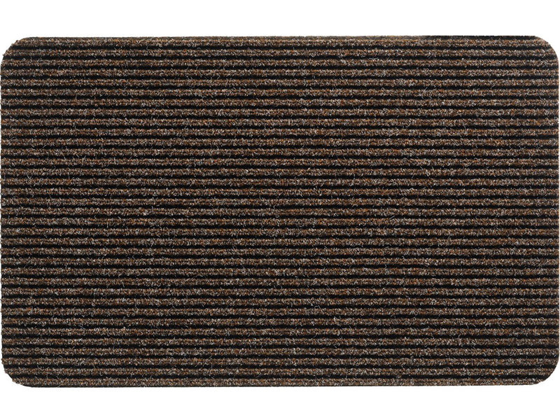 Naaldvilt deurmat Renox -  Bruin  50 X 80 cm.