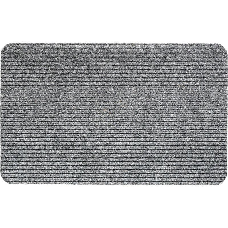 Naaldvilt deurmat Fortuna  - Grigio 50 X 80 cm.