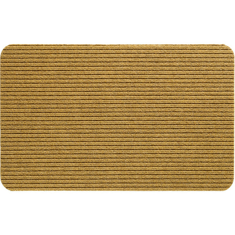 Naaldvilt deurmat Fortuna  - Sand 50 X 80 cm.