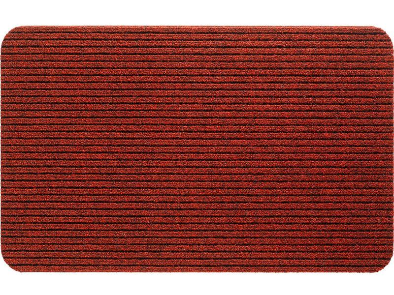 Naaldvilt deurmat Fortuna  -  classic Red 50 X 80 cm.