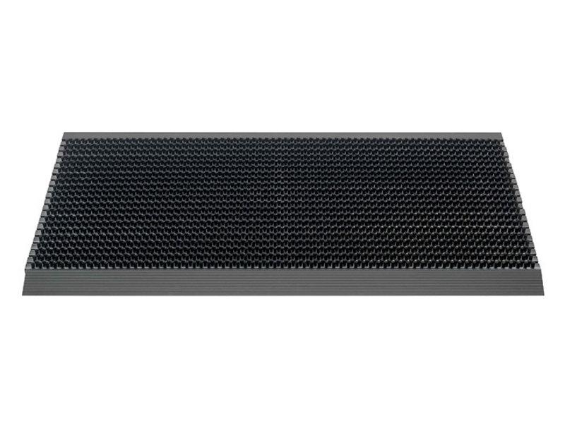 Deurmat / Borstelmat Outline  50x80 cm  Zwart