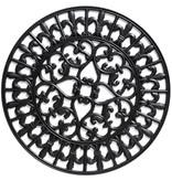 Rubber deurmat Ø 60 cm  French Lily