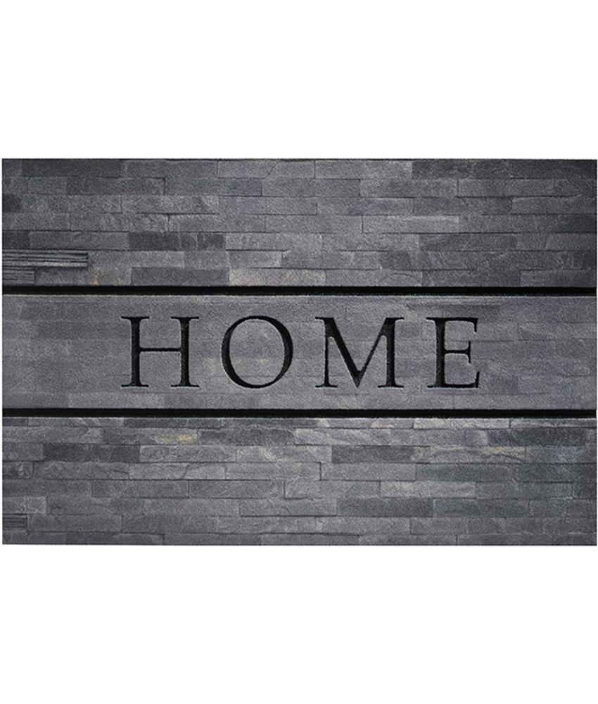 Rubber Deurmat Home Stones 45 x 75 cm.