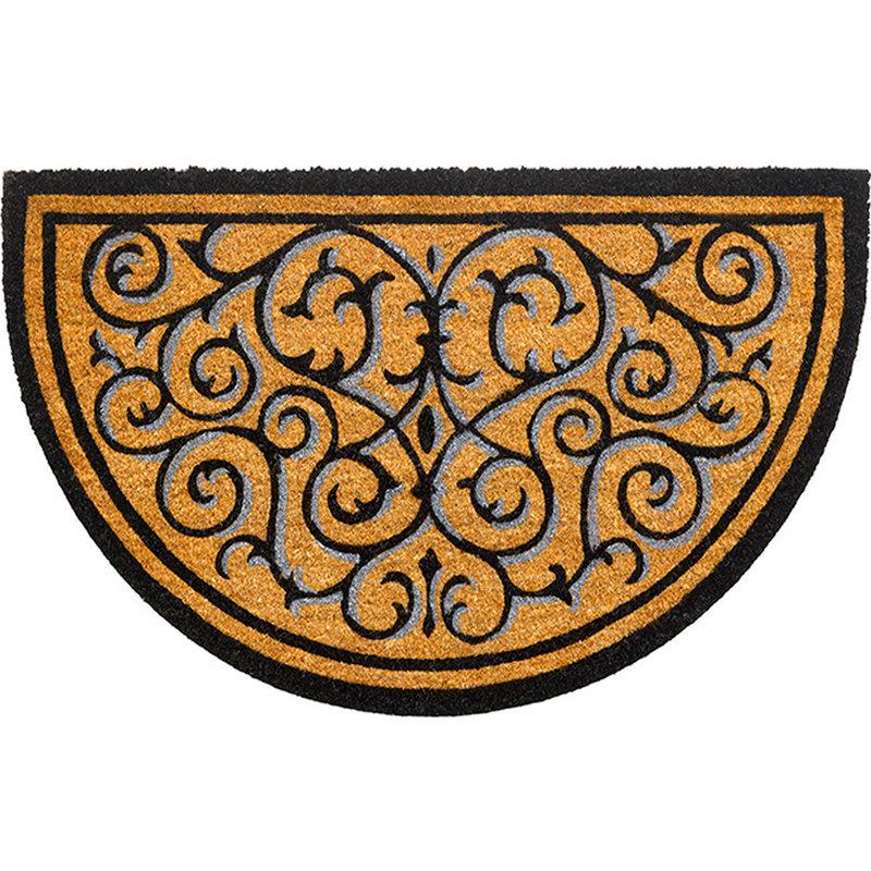 Kokosmat  Ruco design  Halfround 45 x 75 cm