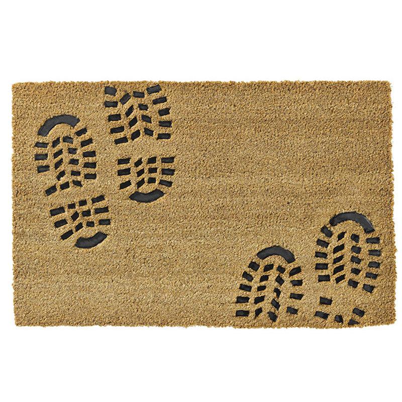 Kokosmat  Ruco Embossed Rubber  Foot 40 x 60 cm