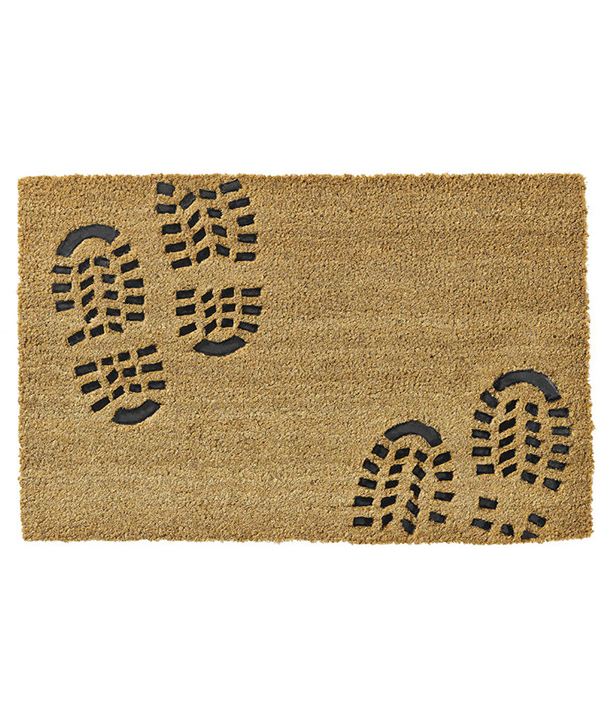 Kokosmat  Ruco Embossed Rubber  Foot 40 x 60 cm