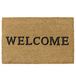 Kokosmat  Ruco Embossed Rubber  Welcome  40 x 60 cm