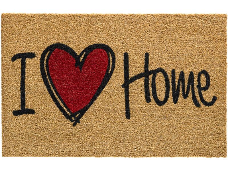 Kokosmat I Love Home 45x75 cm.