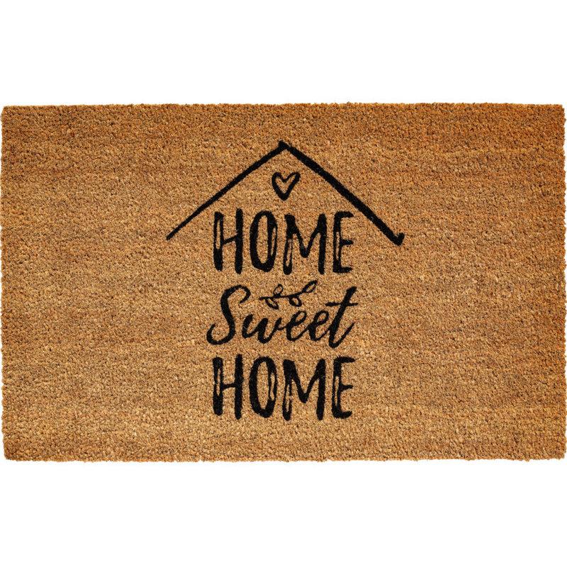 "Kokosmat  ""Home Sweet Home""  Ruco Print 45 x 75 cm"