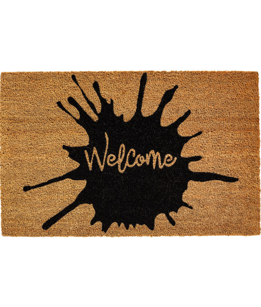 "Kokosmat  ""Welcome Splash""  Ruco Print 45 x 75 cm"