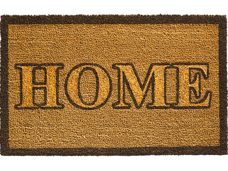 "Kokosmat Ruco Glitter ""Home gold""  40 x 70 cm."