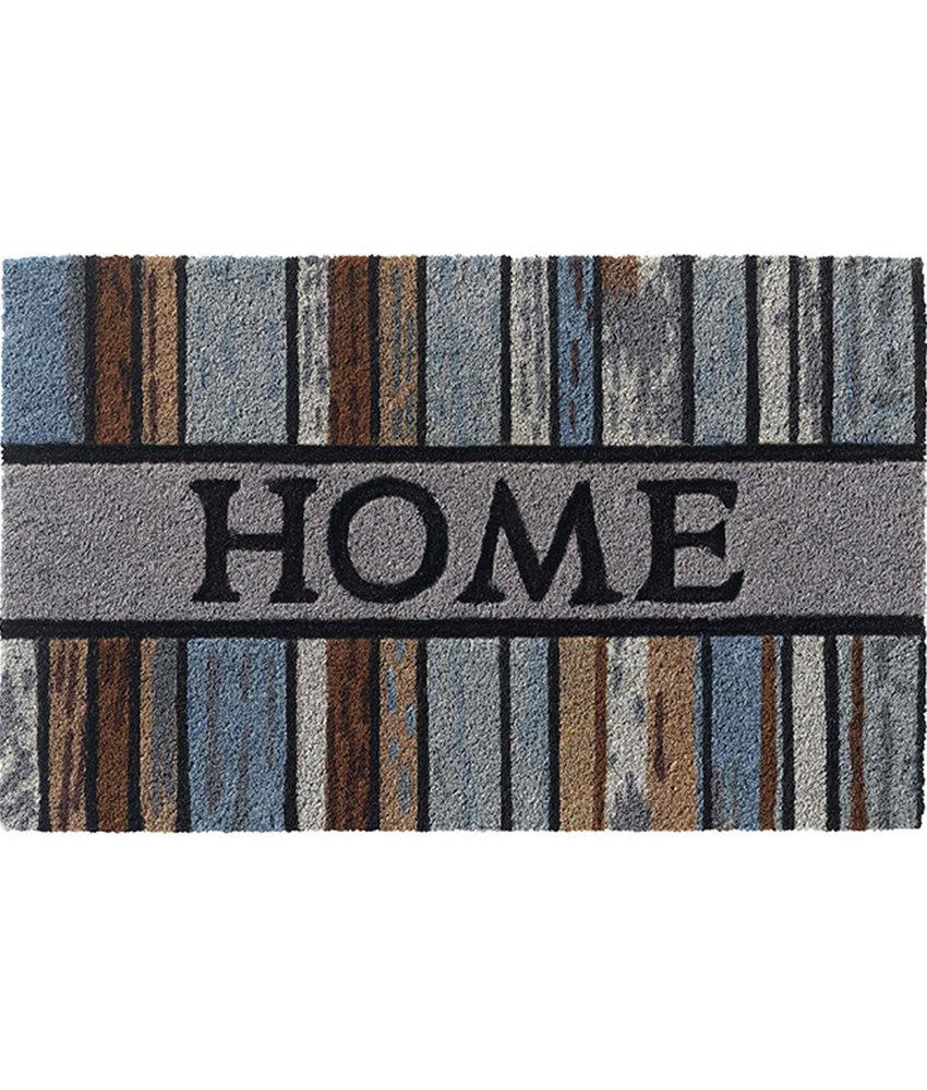 "Kokosmat Ruco Style ""Woodplanks HOME""   45 x 75 cm."