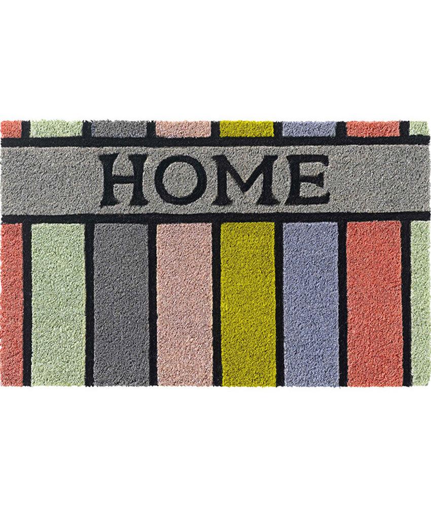 "Kokosmat Ruco Style ""Pastel HOME""   45 x 75 cm."