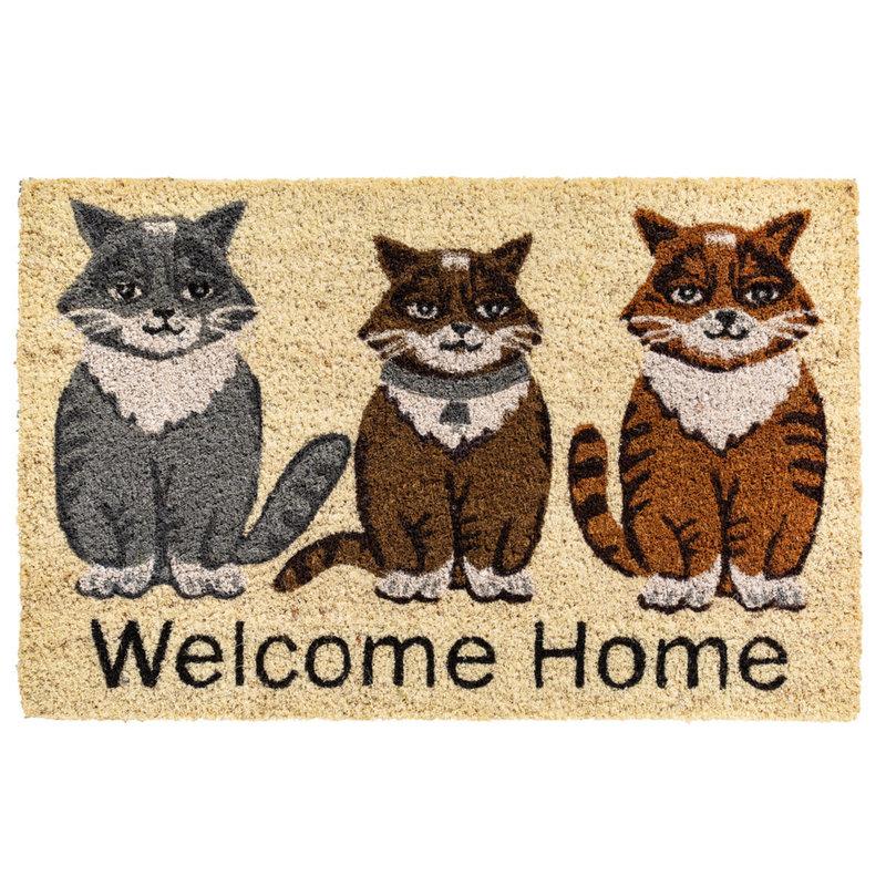 Kokosmat Welcome Home  40x60 cm.