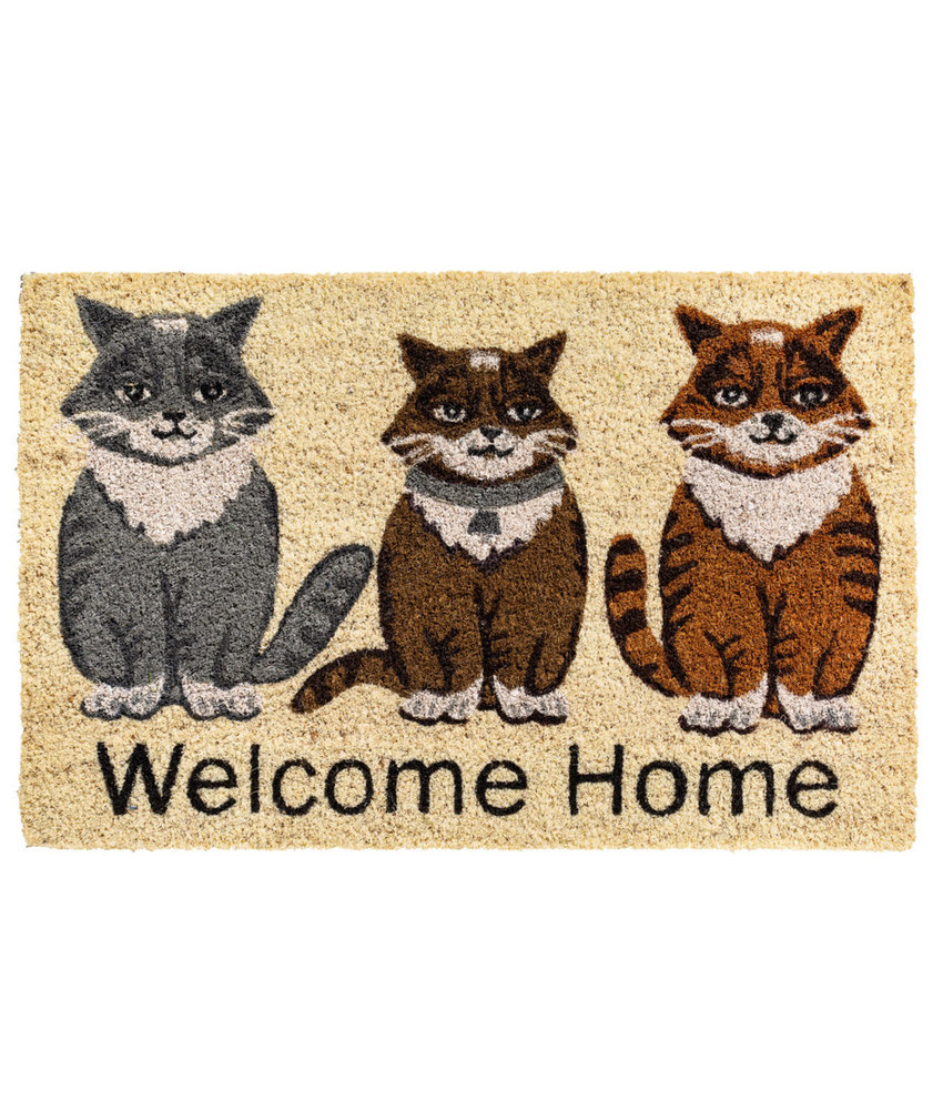 Kokosmat Welcome Home  40x60 cm.