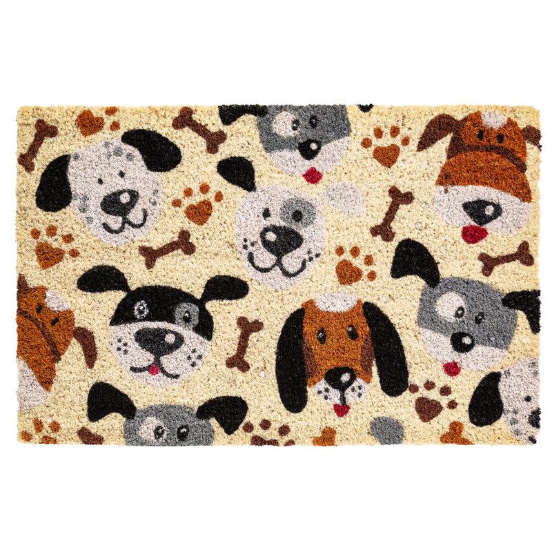 Kokosmat  Dogs  40x60 cm.