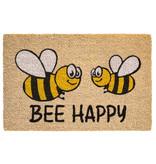 Kokosmat  Bee Happy  40x60 cm.