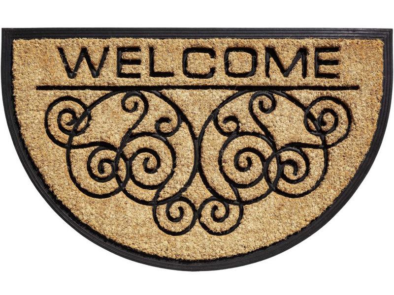 Kokosmat Bombay  Welcome HR  45x75 cm