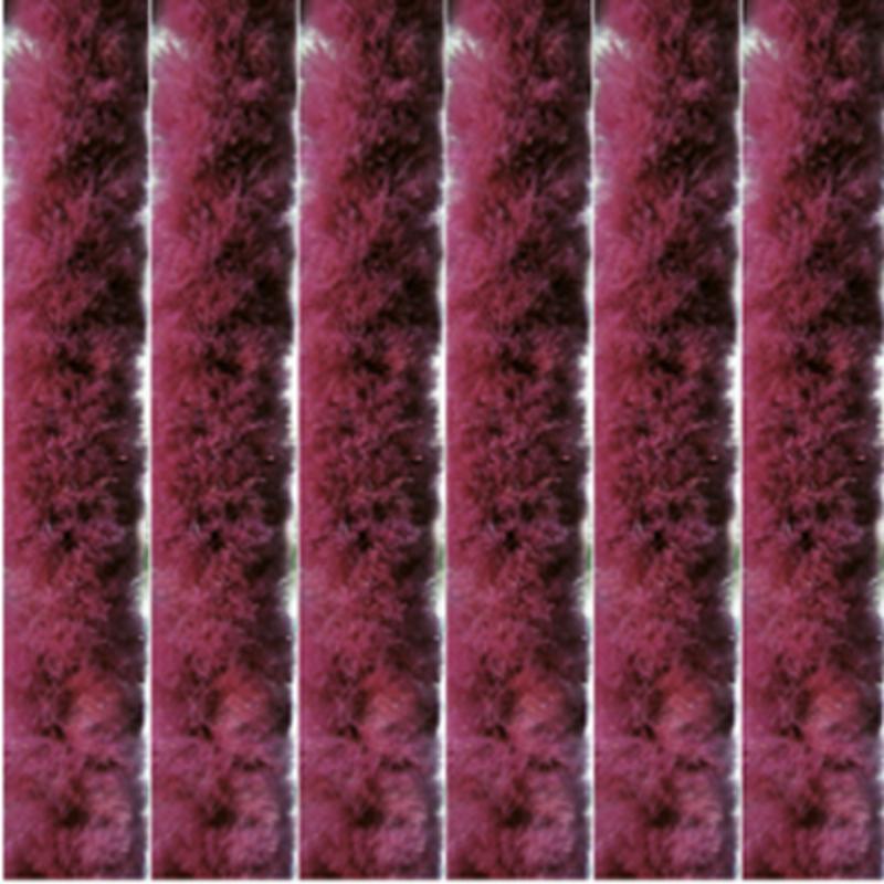 Vliegengordijn kattenstaart 100x220 cm.  Bordeaux
