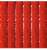 Vliegengordijn kattenstaart 90x220 cm.  Rood