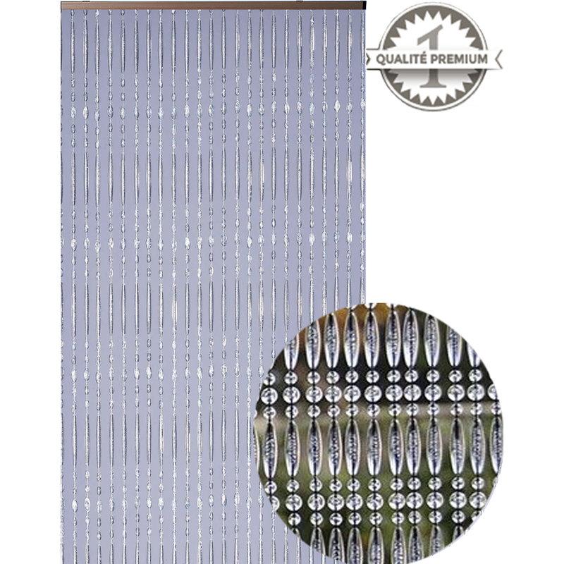 """Luxe Kralengordijn """"Mireille"""" 120x220 cm   Cristal"""