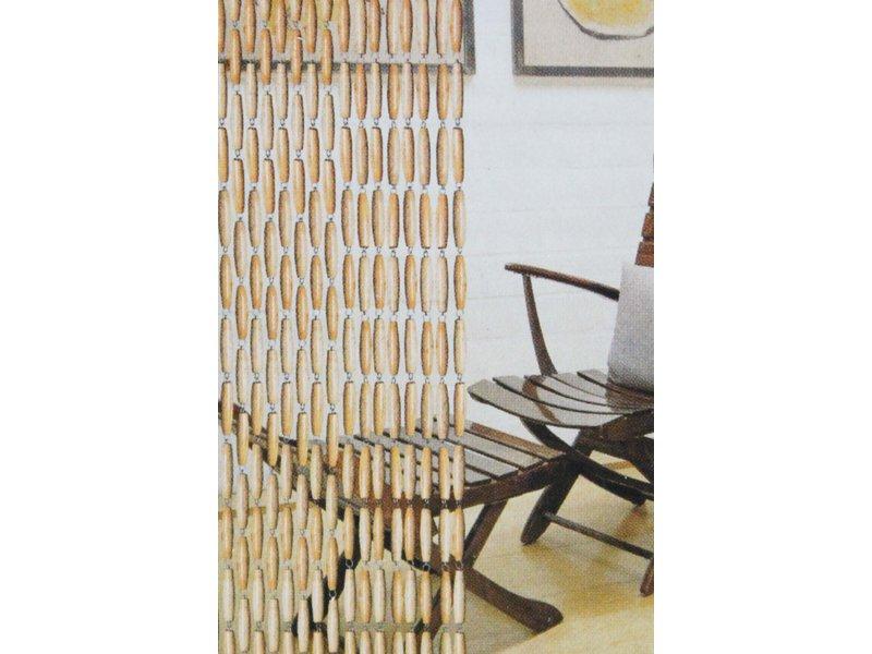 """Luxe Vliegengordijn """"Natuurlijke Buxus olijven""""  90 x 220 cm"""