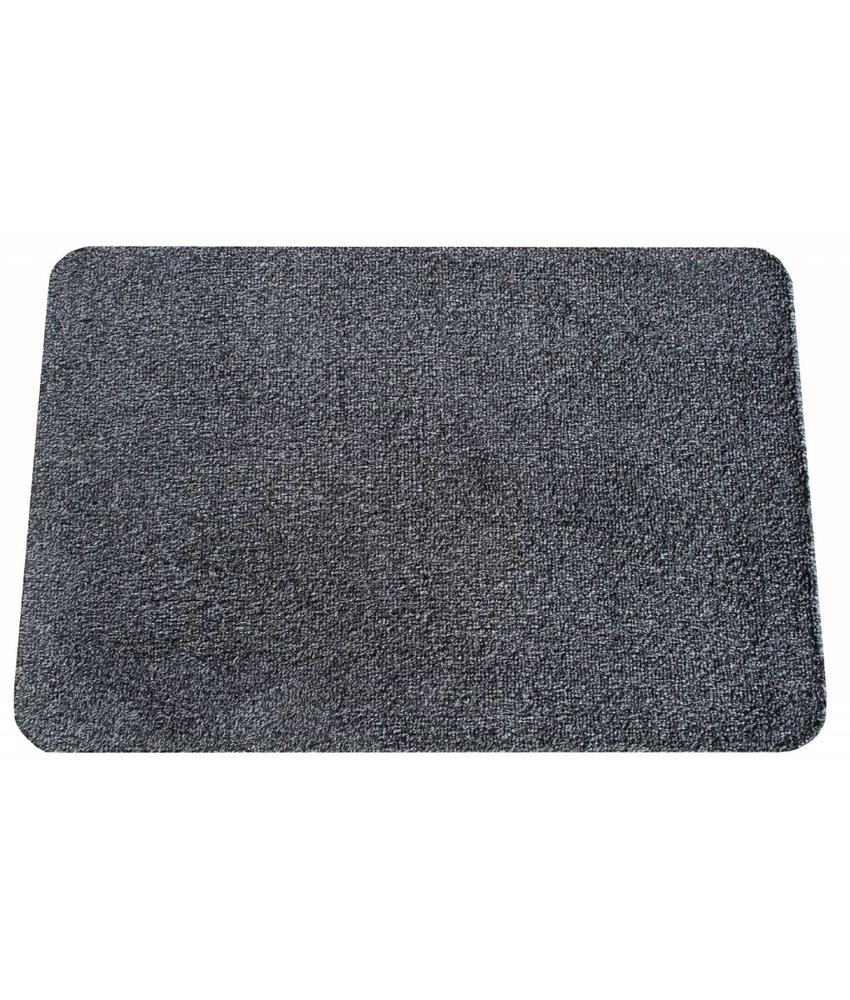 Wasbare droogloopmat Anthracite 40x60 cm.