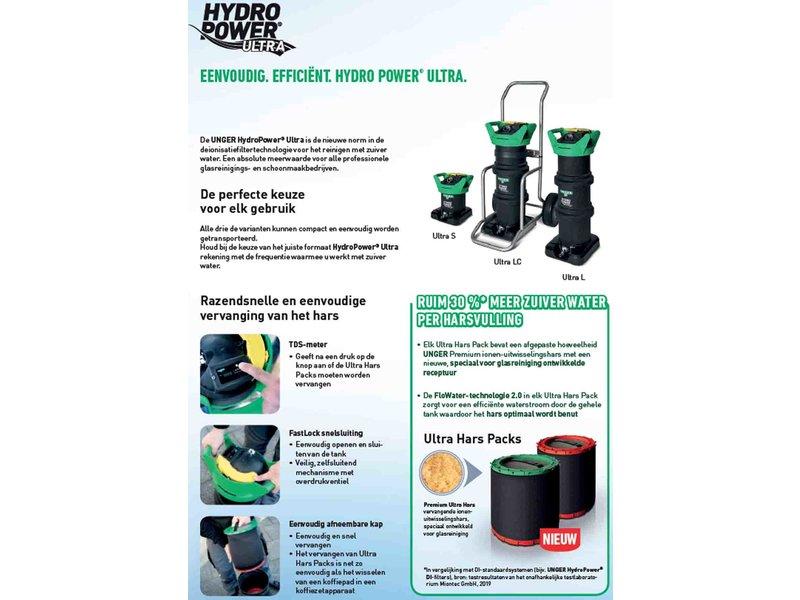 Unger HydroPower Ultra Zuiverwaterfilter L + RVS Steekkar