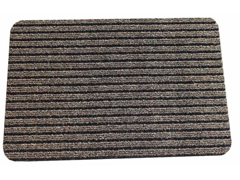 Naaldvilt deurmat Solid 40 X 60 cm. Brons