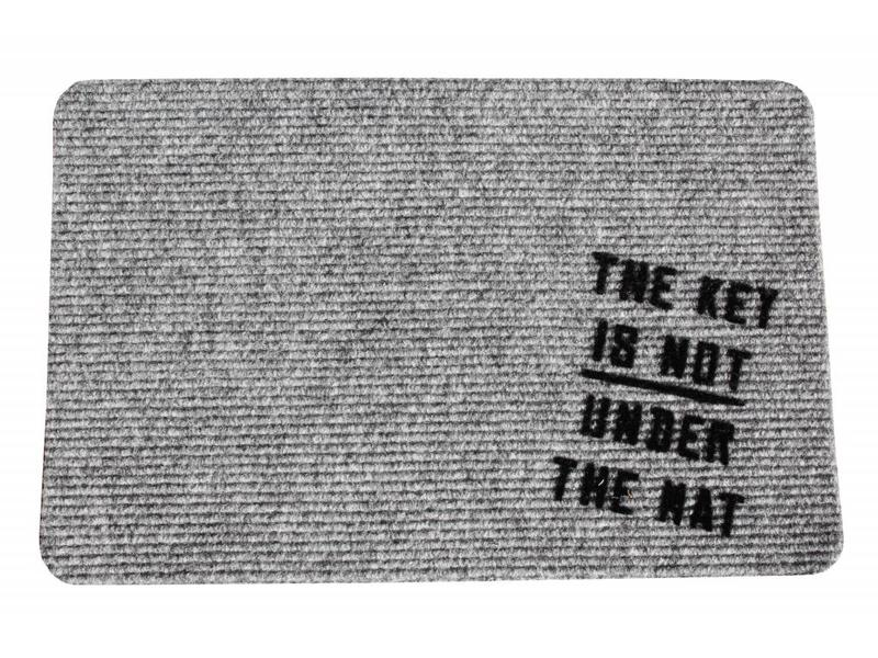 Naaldvilt deurmat The Key 40 x 60 cm.