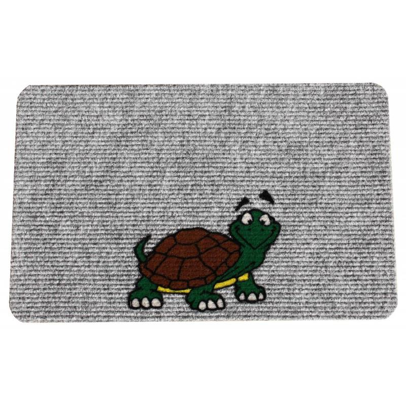 Naaldvilt deurmat Turtle 40 x 60 cm.
