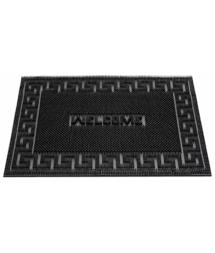 Rubber deurmat Welcome 40x60 cm.
