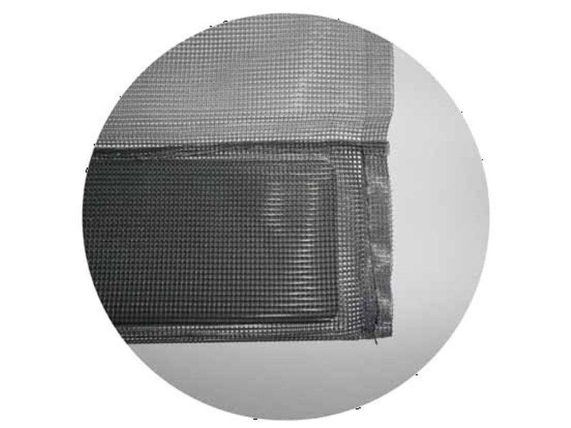 Horgordijn  Maxi -  6 lamellen 150x235 cm.
