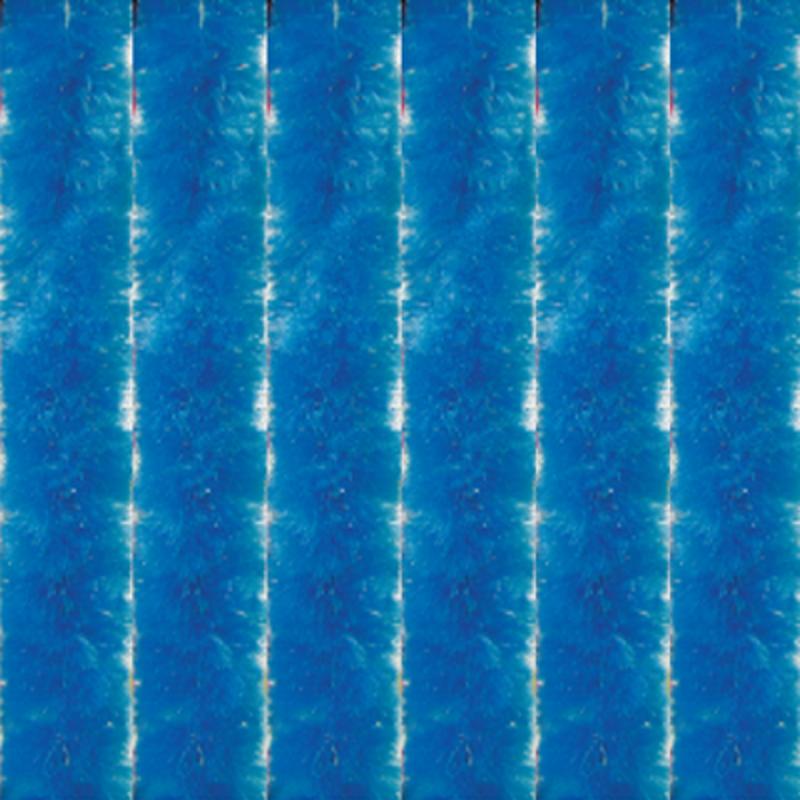 Vliegengordijn kattenstaart 120x230 cm. Azurro Blauw