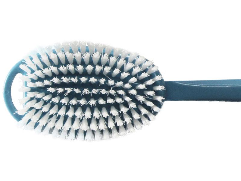 Badborstel Nylon pvc steel blauw