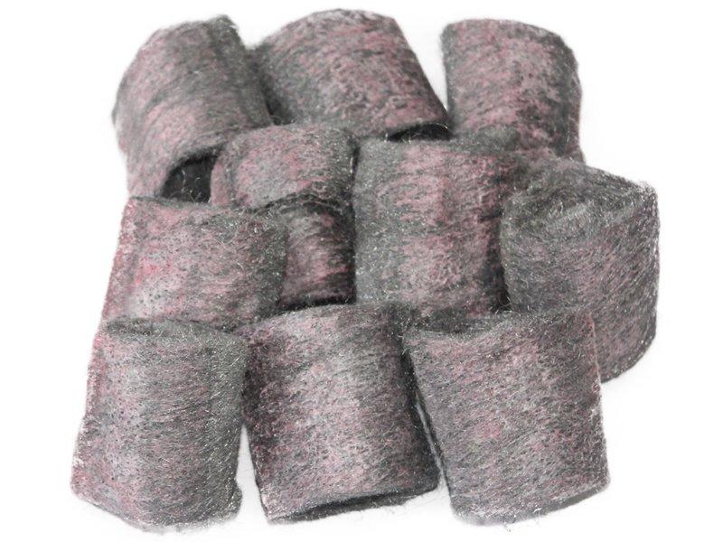 Staalwol met zeep  / Zeepsponsjes ( 10 stuks )