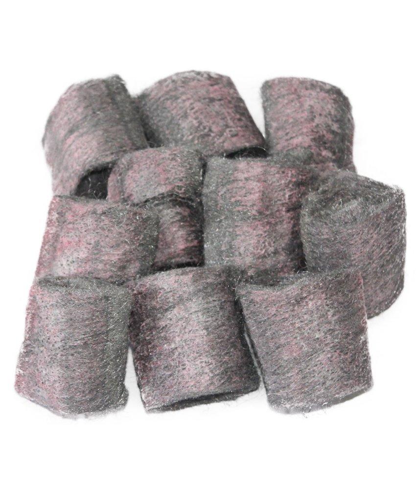 Staalwol met zeep  / Zeepsponsjes - 10 st.