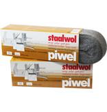 Piwel Staalwol 200gr  nr 00 -  zeer fijn
