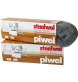 Piwel Staalwol 200gr  nr 0 -  fijn