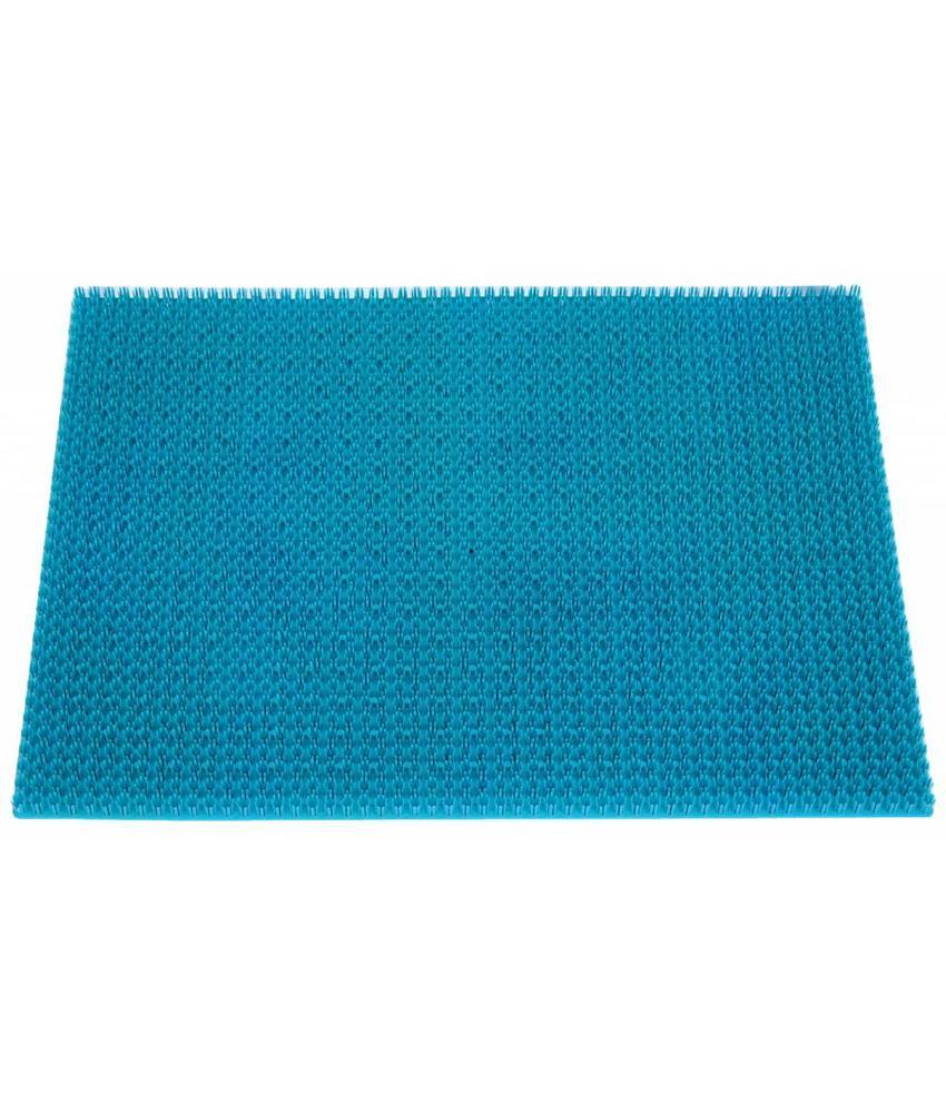 Deurmat Trendy ocean Blauw 40x60 cm.