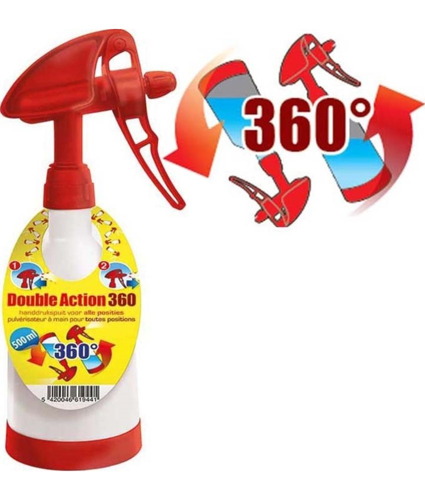 "BSI Hand drukspuit 500 ml.  ""Double Action 360°"""