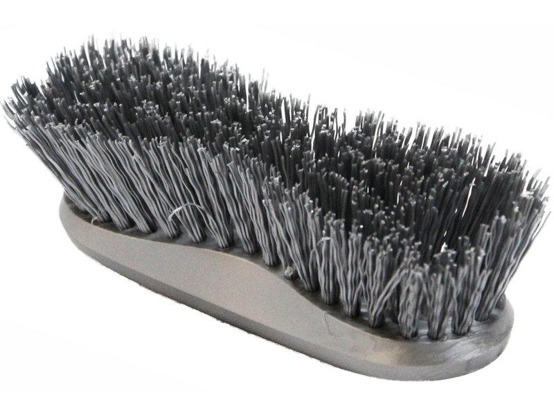 Hand- Werkborstel kunststof Hard  Grijs