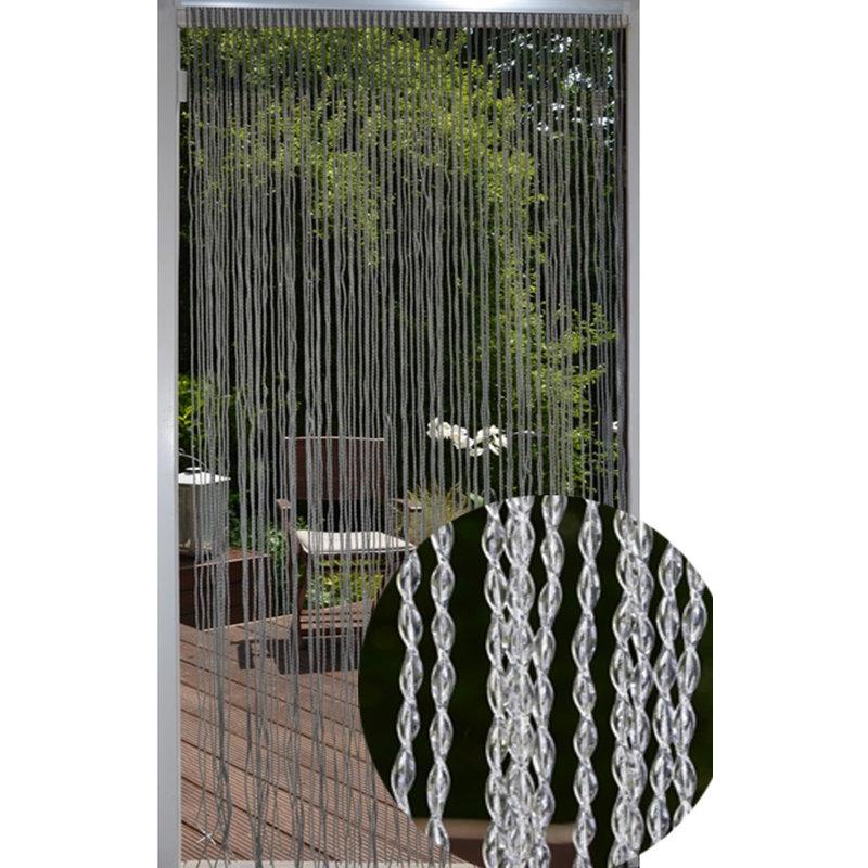 Vliegengordijn Swing Cristal  transparant 100 x 232 cm.