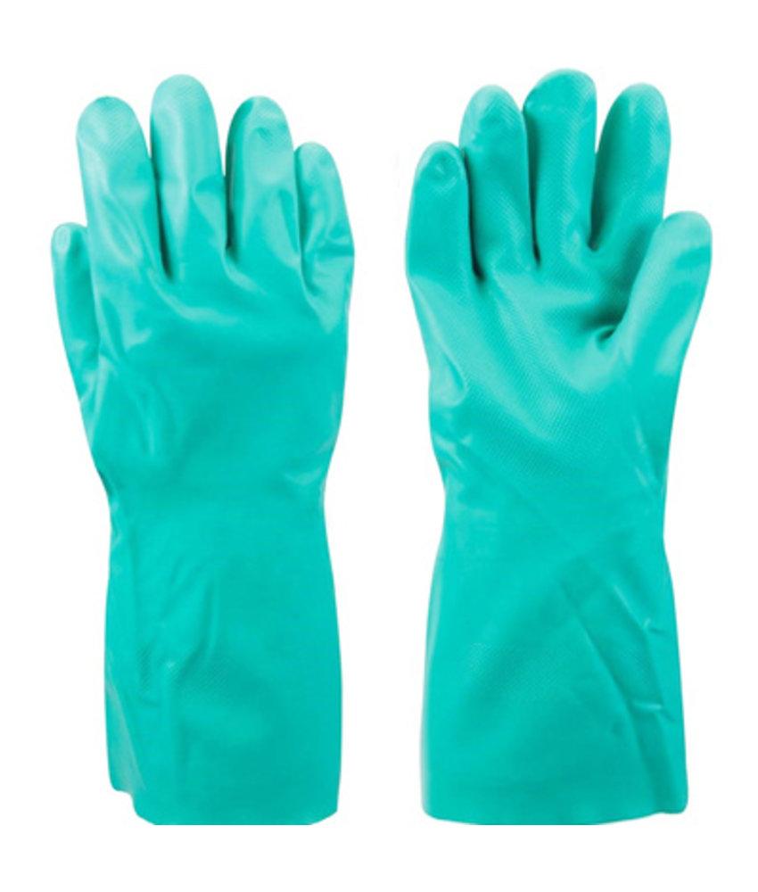 Chemisch bestendige handschoenen in nitril - Groen