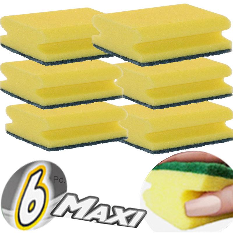 Squizzo Schuurspons Maxi  met greep - 6 st.