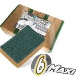 Squizzo Maxi- Absorberende Schuurspons - 6 st.